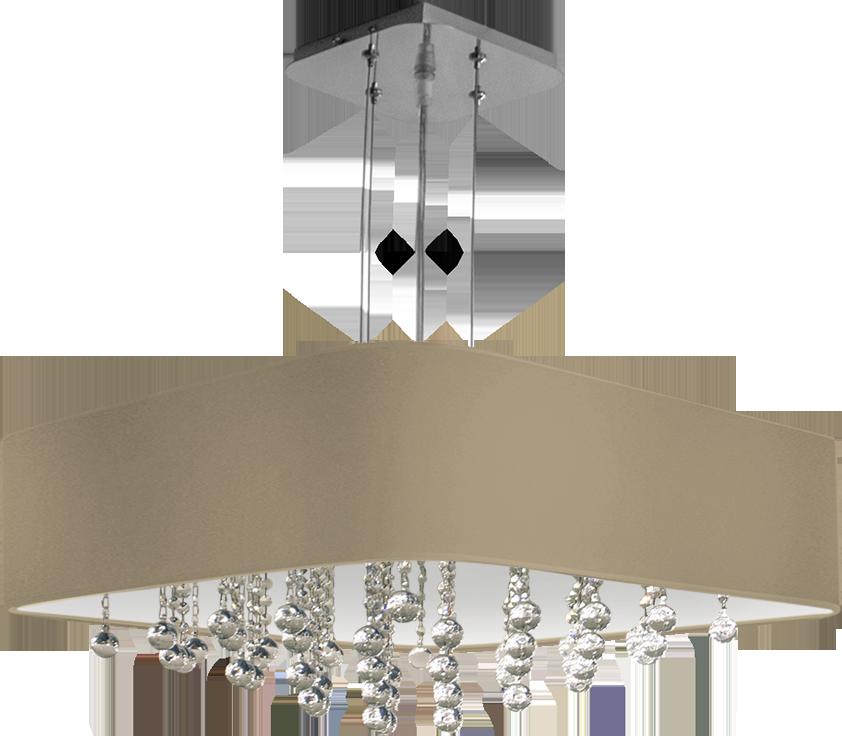 Светильник подвесной KVADRO BS303/5H-500×500